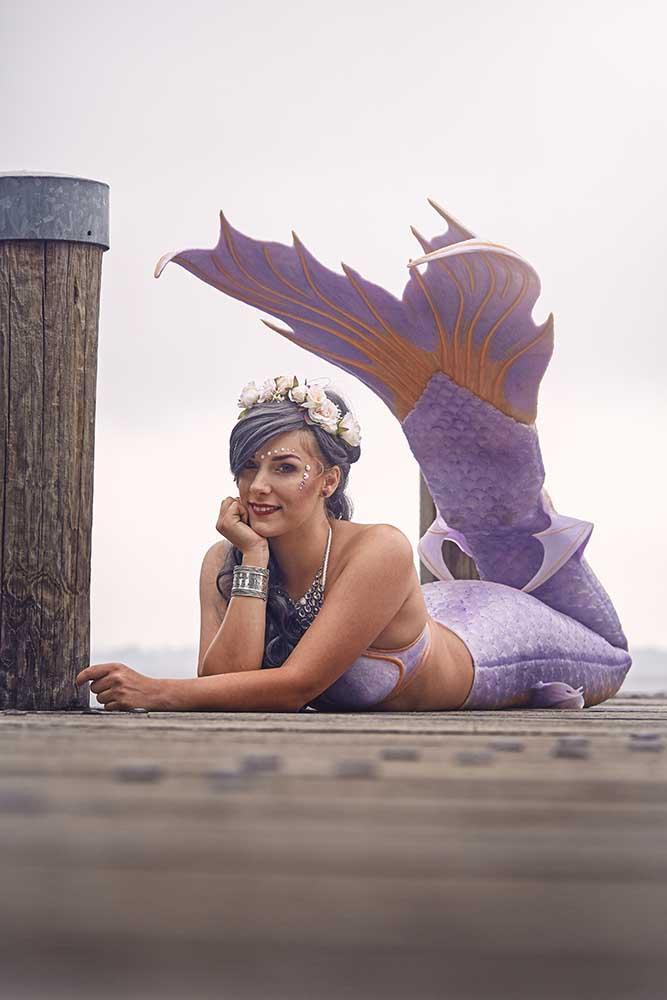 Meerjungfrauenentertainer aus Lübeck - Mermaid Lille